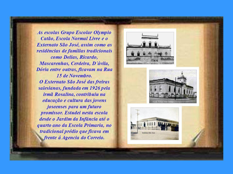 Funcionava onde hoje é á Biblioteca Cassiano Ricardo, o Cine Teatro São José, de José Machado, filho de Bertolino Leite Machado que construiu o prédio