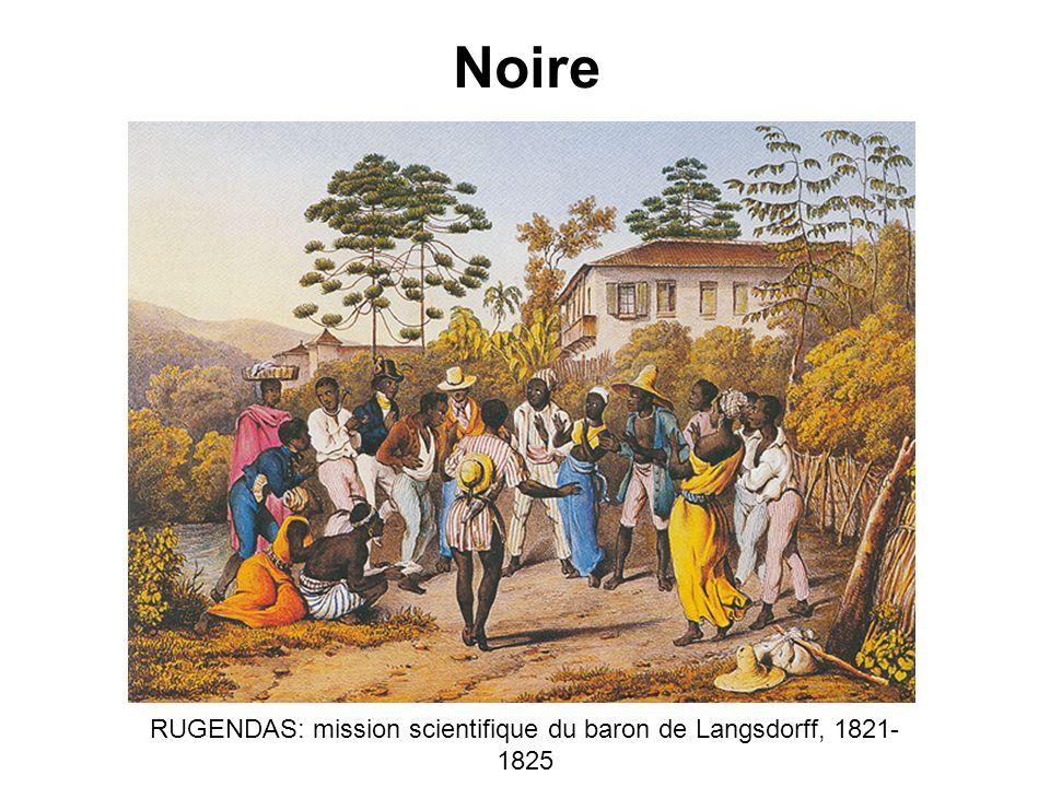 Noire RUGENDAS: mission scientifique du baron de Langsdorff, 1821- 1825