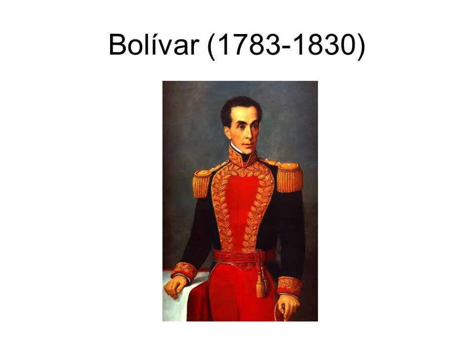 Bolívar (1783-1830)