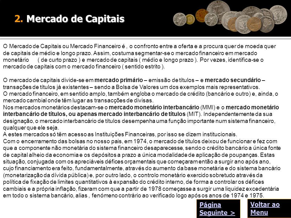 Mercado de Capitais 2.