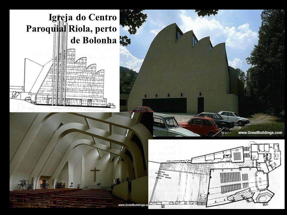 Igreja do Centro Paroquial Riola, perto de Bolonha