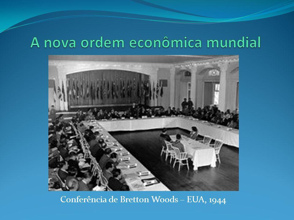 Conferência de Bretton Woods – EUA, 1944