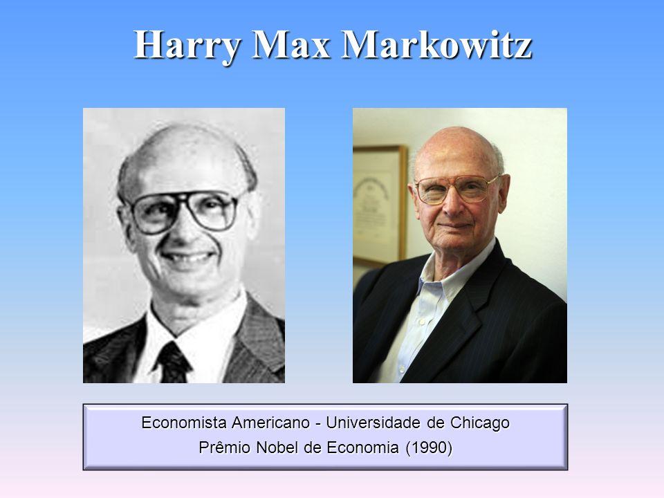 Teoria da Carteira Eficiente Teoria desenvolvida por Harry Max Markowitz (1952) Pressupostos: Pressupostos: - Como avaliar, medir e quantificar o risc