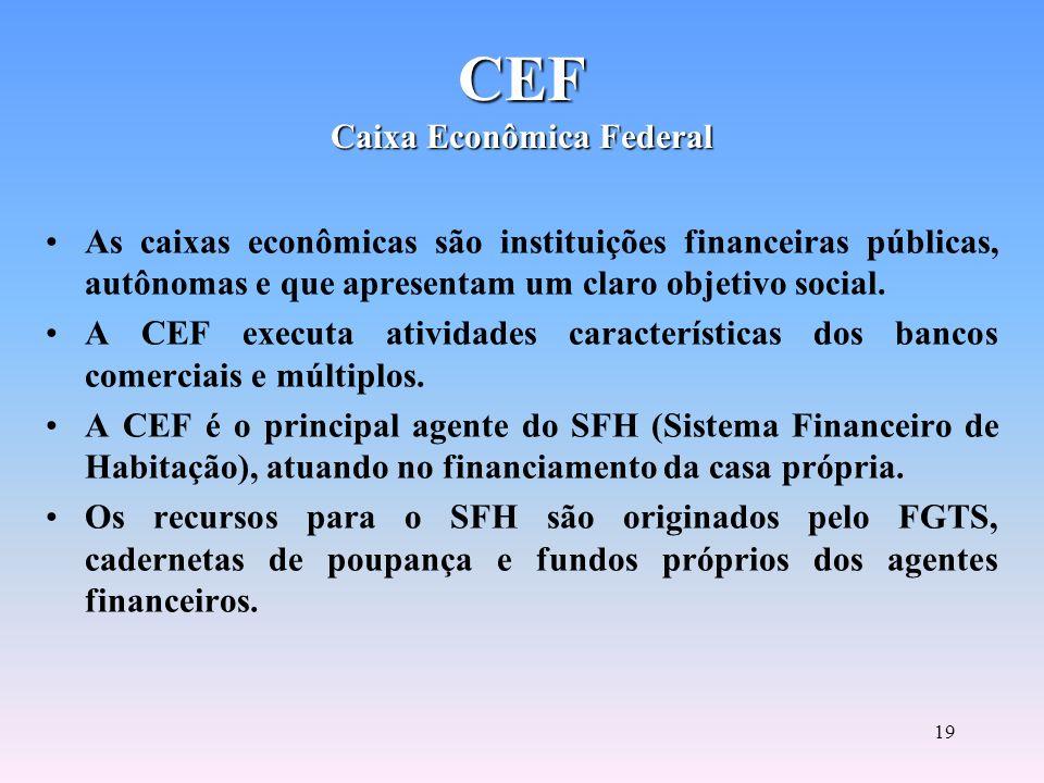 18 BNDES Banco Nacional de Desenvolvimento Econômico e Social