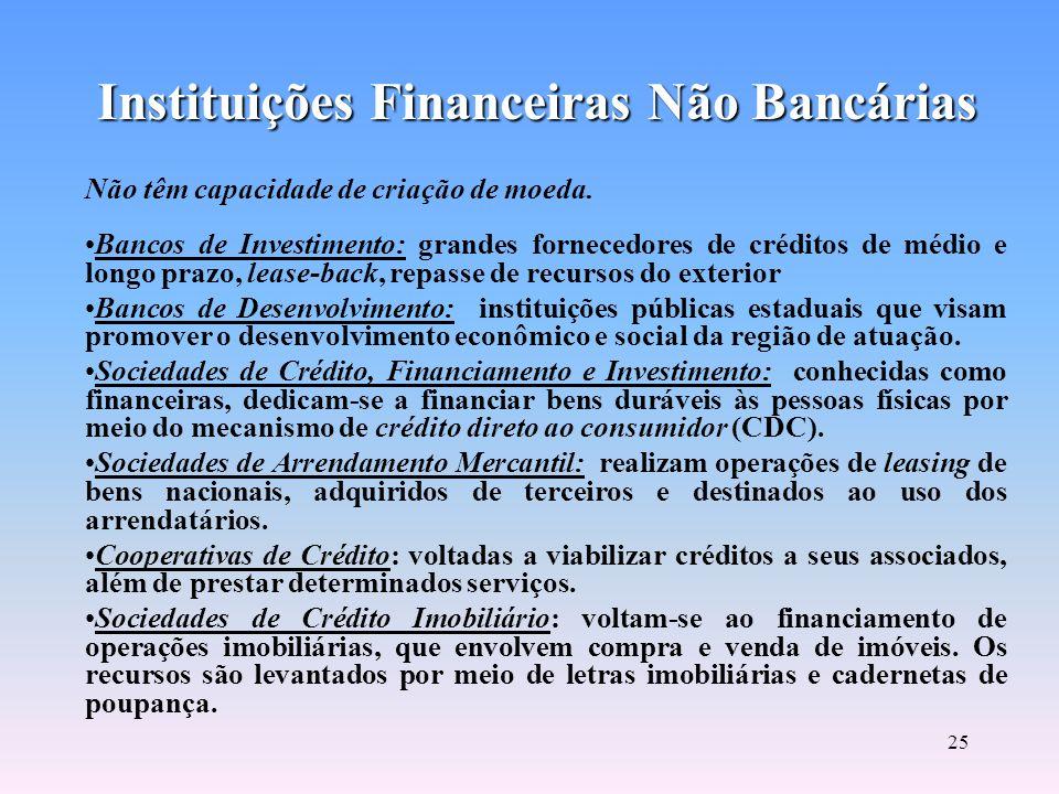 24 Instituições Financeiras Bancárias
