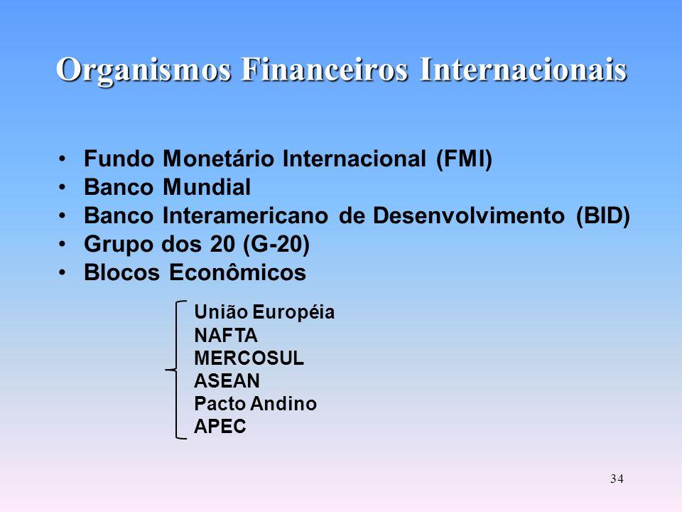 33 Títulos Públicos Negociados no Mercado Financeiro São títulos federais, estaduais e municipais. Os títulos federais são adquiridos no mercado primá
