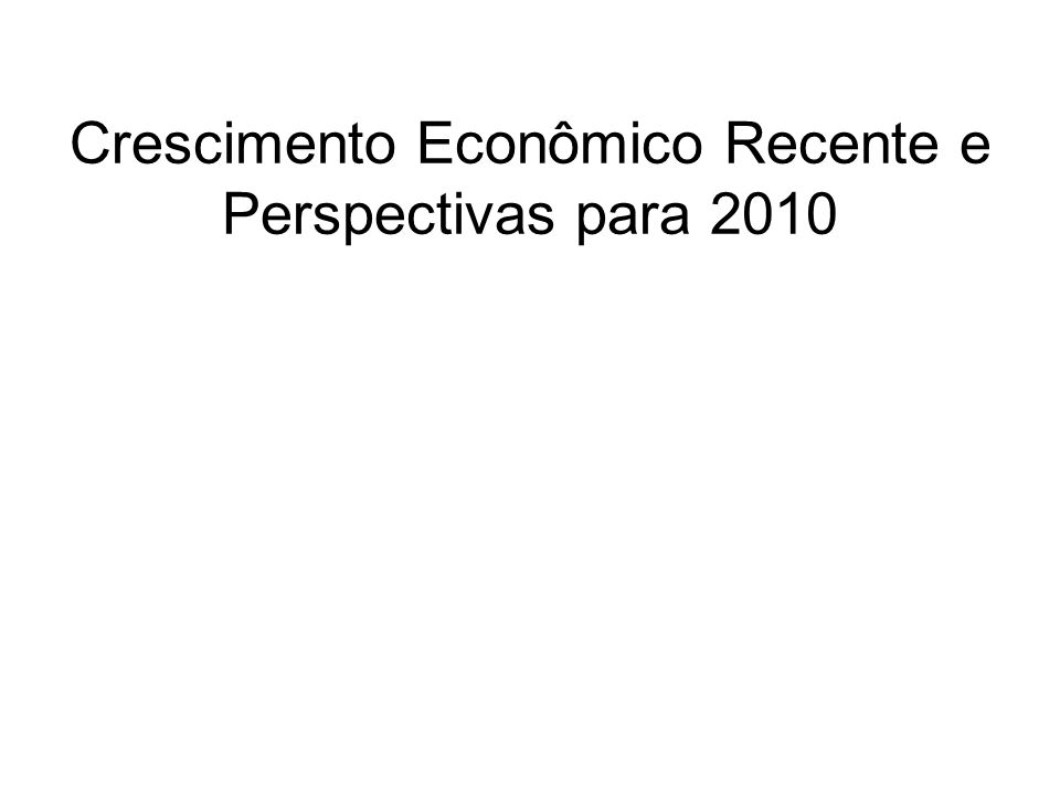 Produto Interno Bruto - PIB