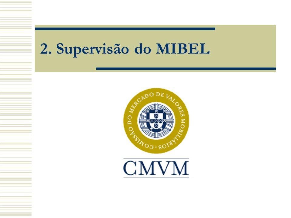 Exercício Coordenado da Supervisão Exercício coordenado das funções de supervisão, sem prejuízo das competências da(s) entidade(s) de supervisão do país em que o(s) mercado(s) se constituam e da legislação nacional aplicável.