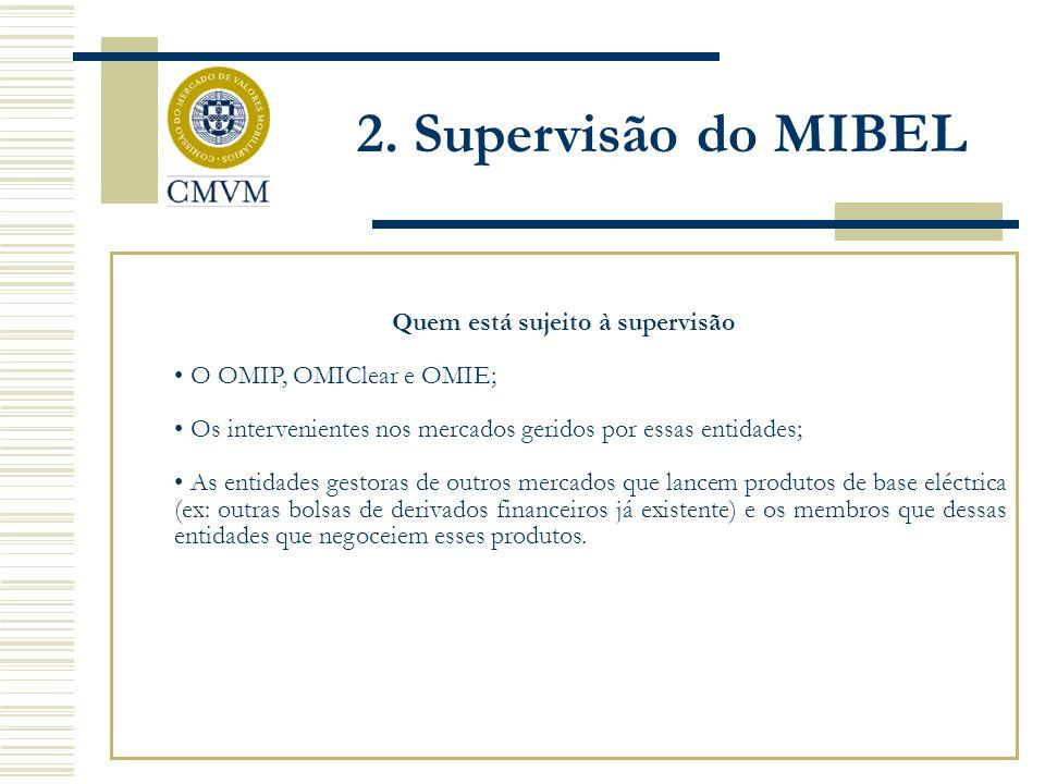 Comissão do Mercado de Valores Mobiliários Fonte: CMVM Conference: The Iberian Electricity Market (MIBEL), Juan Carlos Alonso Encinas 3.