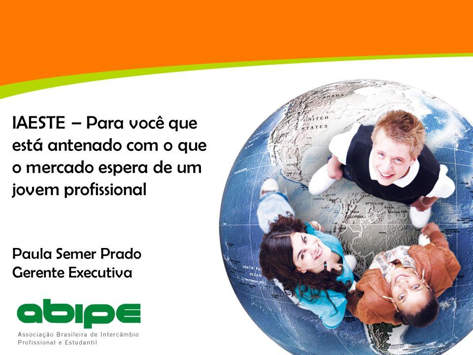 Sobre a ABIPE Associação Brasileira de Intercâmbio Profissional e Estudantil: entidade sem fins lucrativos, com sede em São Paulo/SP, que gerencia, há mais de 30 anos, programas de mobilidade internacional para universitários, conectando o Brasil a mais de 80 países.