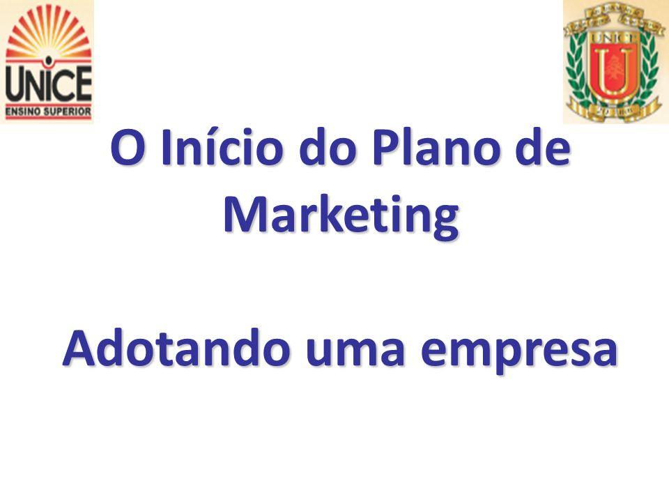 O Início do Plano de Marketing Adotando uma empresa