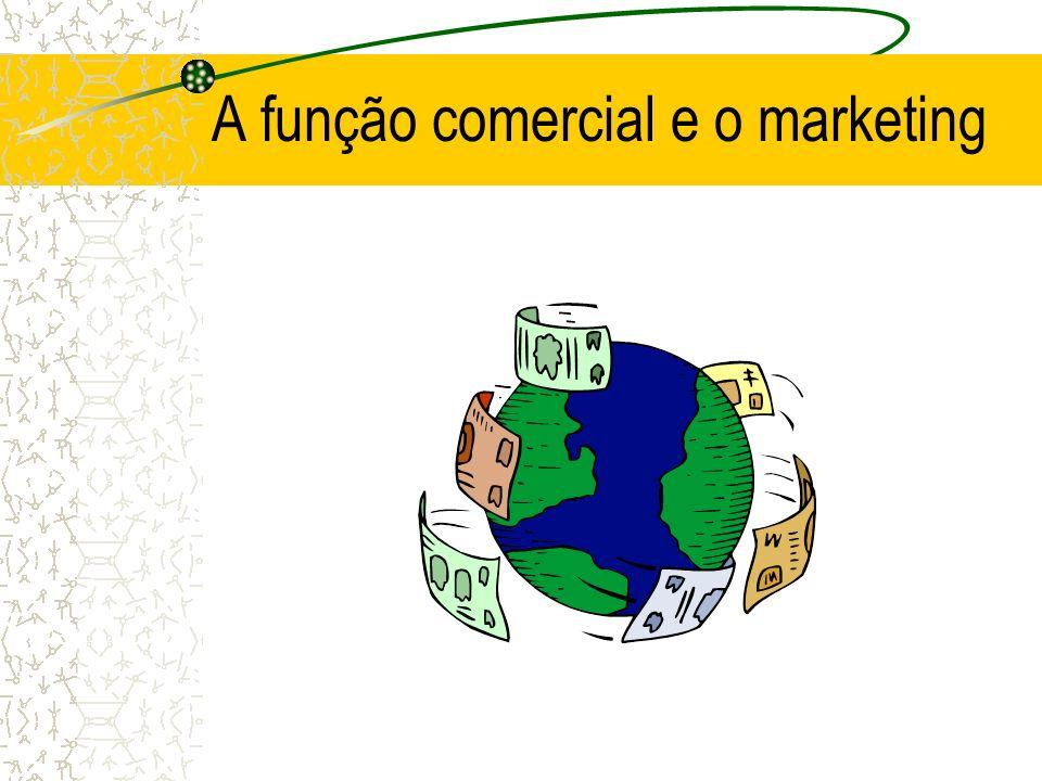Objectivos da função comercial Fazer o estudo de mercado por forma a adaptar as características dos bens (forma, qualidade, funcionalidade, estética, embalagem e preço) às características dos potenciais compradores.