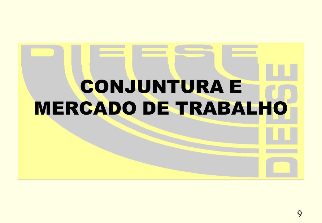 9 CONJUNTURA E MERCADO DE TRABALHO