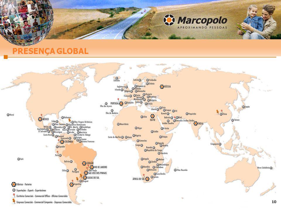 10 PRESENÇA GLOBAL