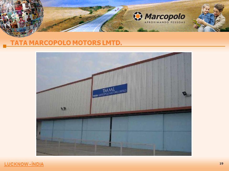 LUCKNOW - ÍNDIA TATA MARCOPOLO MOTORS LMTD. 19