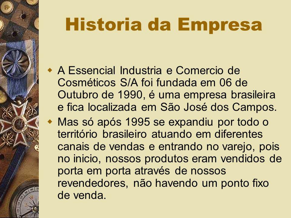 Definição do Departamento de Vendas A empresa é composta pela matriz, ou seja, a fábrica, pelos seus distribuidores e franqueados.