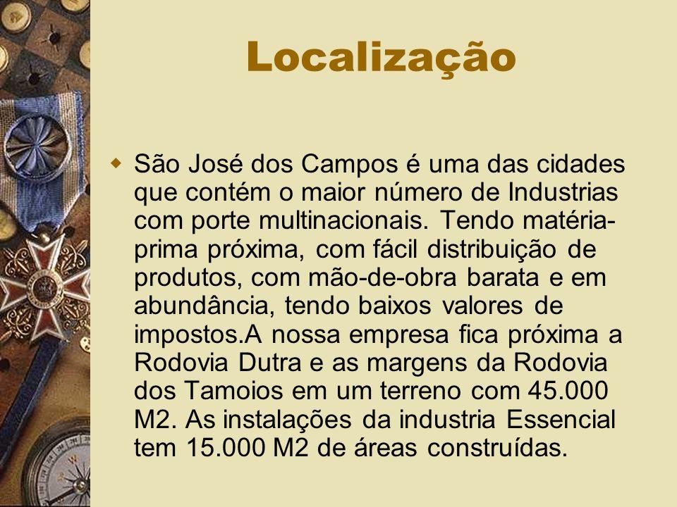 Localização São José dos Campos é uma das cidades que contém o maior número de Industrias com porte multinacionais.