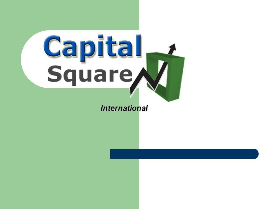 Quem Somos Objetivo: Rentabilizar ao máximo o dinheiro Objetivo: Rentabilizar ao máximo o dinheiro é uma empresa gestora especializada cujo objetivo é o de rentabilizar ao máximo o capital investido pelos seus clientes Capital Square é uma empresa gestora especializada cujo objetivo é o de rentabilizar ao máximo o capital investido pelos seus clientes