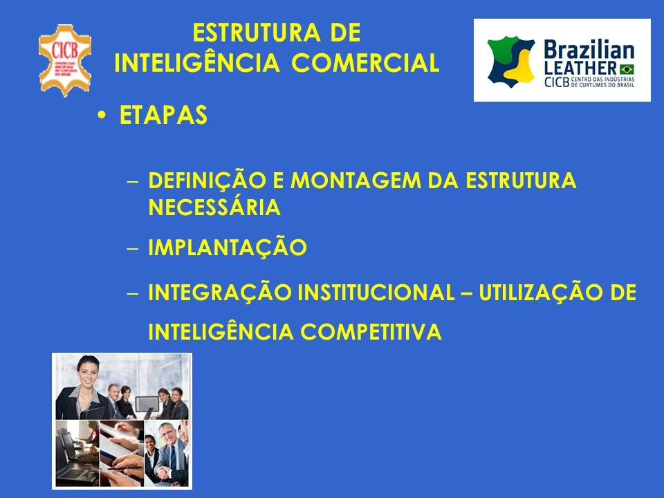 INTELIGÊNCIA COMERCIAL INFORMAÇÕES UTILIZADAS ATUALMENTE – OFICIAIS - MDIC/ALICE – REMODELAGEM COM NOVAS ANÁLISES A PARTIR DE MARÇO/2010