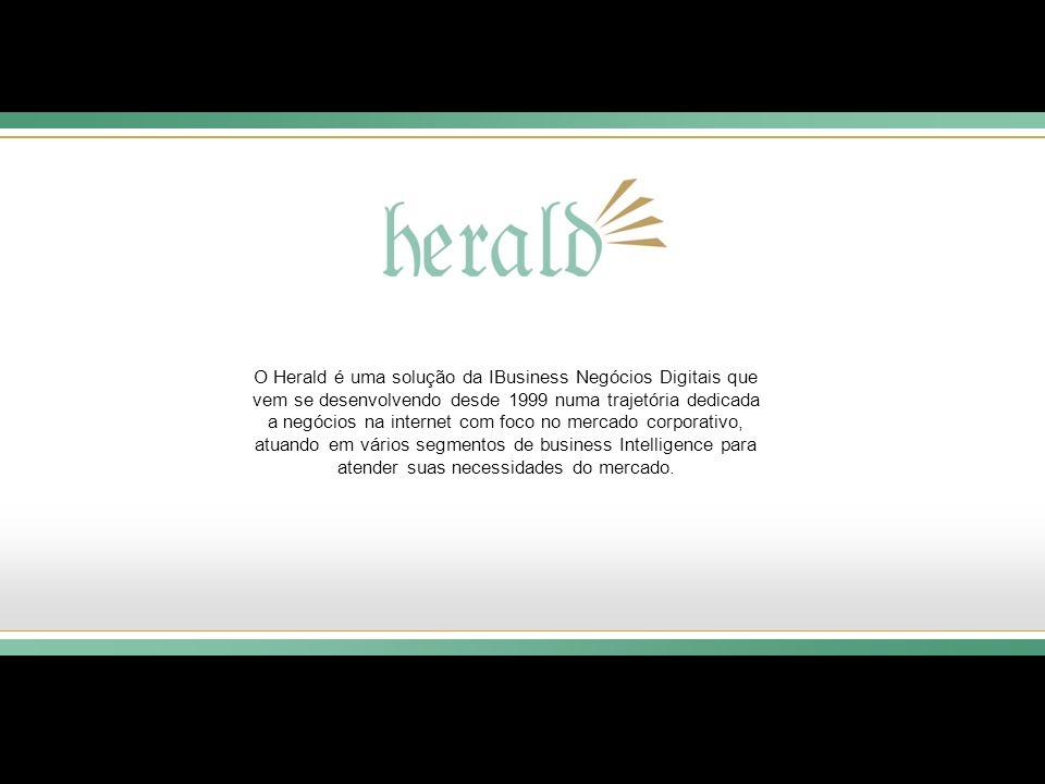O Herald é uma solução da IBusiness Negócios Digitais que vem se desenvolvendo desde 1999 numa trajetória dedicada a negócios na internet com foco no