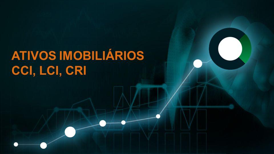 Subtexto em caixa baixa ATIVOS IMOBILIÁRIOS CCI, LCI, CRI