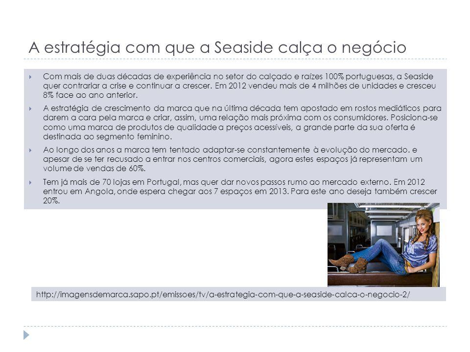 A estratégia com que a Seaside calça o negócio Com mais de duas décadas de experiência no setor do calçado e raízes 100% portuguesas, a Seaside quer c