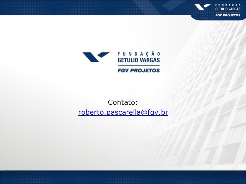 Contato: roberto.pascarella@fgv.br@fgv.br