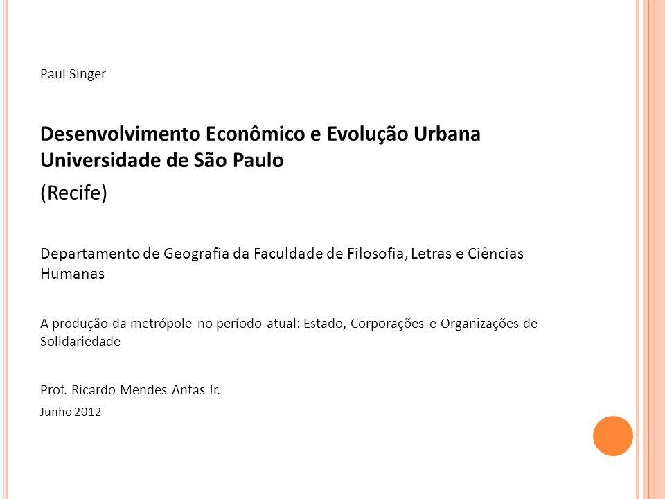 P ERNAMBUCO : A MAIS RICA COLÔNIA AÇUCAREIRA DE P ORTUGAL -Já na colonização, em Pernambuco houve desde o início um promissor Setor de Mercado Externo, representado pelos engenhos açucareiros.