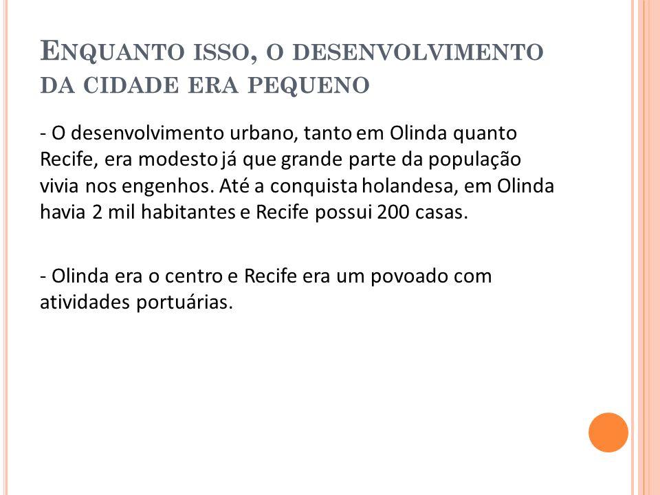 T UDO COMEÇA A MUDAR COM A INVASÃO HOLANDESA, EM 1631 -A Holanda desde o século XVI foi o grande centro de distribuição do açúcar produzido no Brasil, mas perderam.