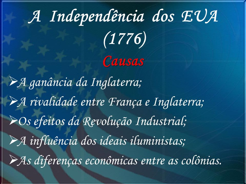 George Washington 1º Presidente dos Estados Unidos da América Thomas Jefferson 3 º Presidente dos Estados Unidos da América
