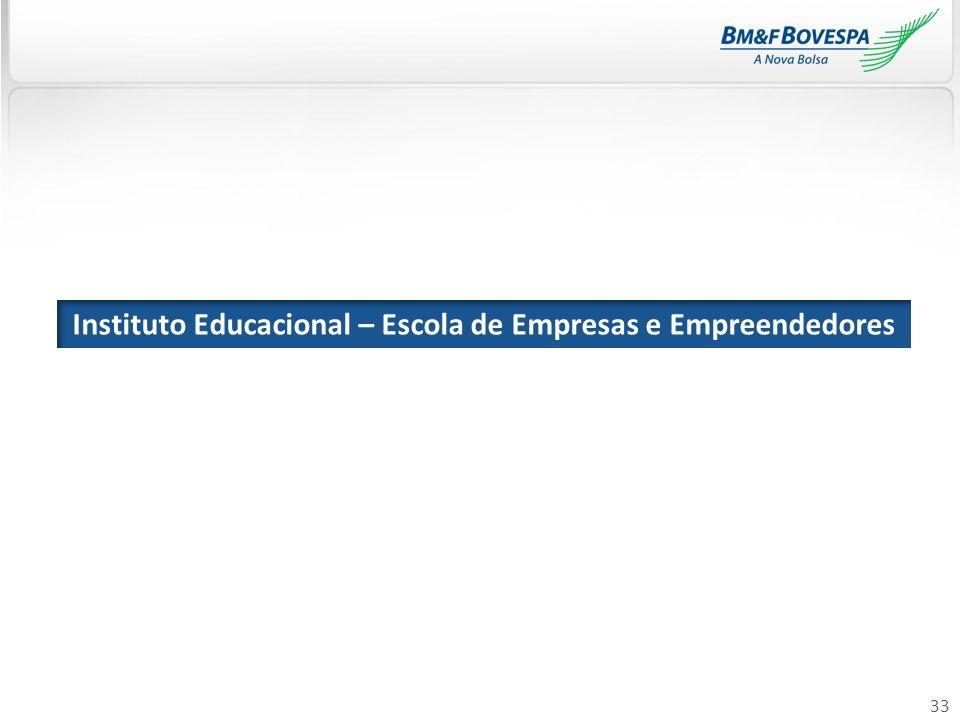 33 Instituto Educacional – Escola de Empresas e Empreendedores