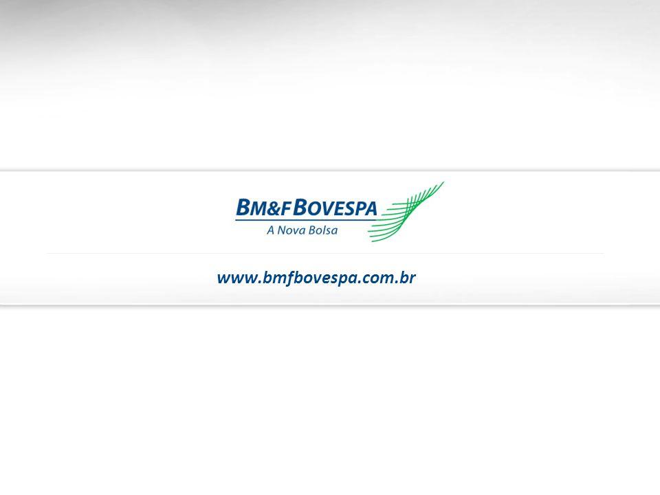 38 www.bmfbovespa.com.br