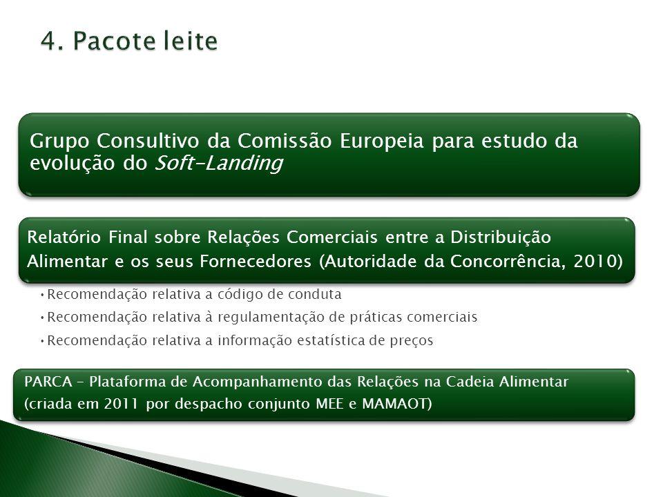 Relatório Final sobre Relações Comerciais entre a Distribuição Alimentar e os seus Fornecedores (Autoridade da Concorrência, 2010) Recomendação relati