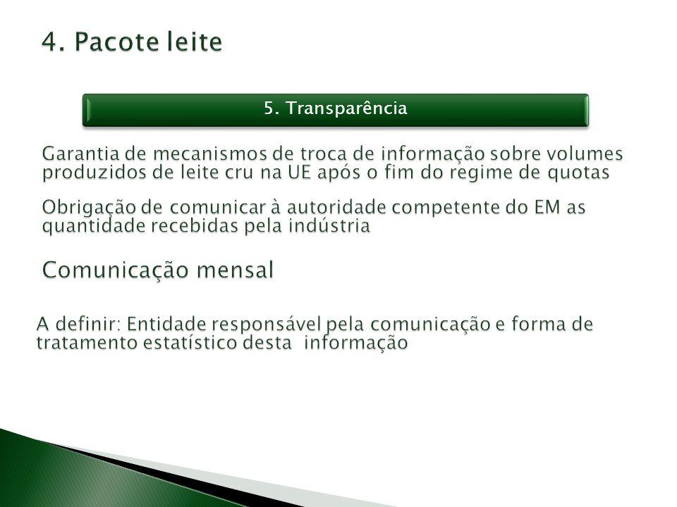 5. Transparência