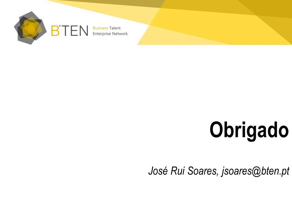 Obrigado José Rui Soares, jsoares@bten.pt