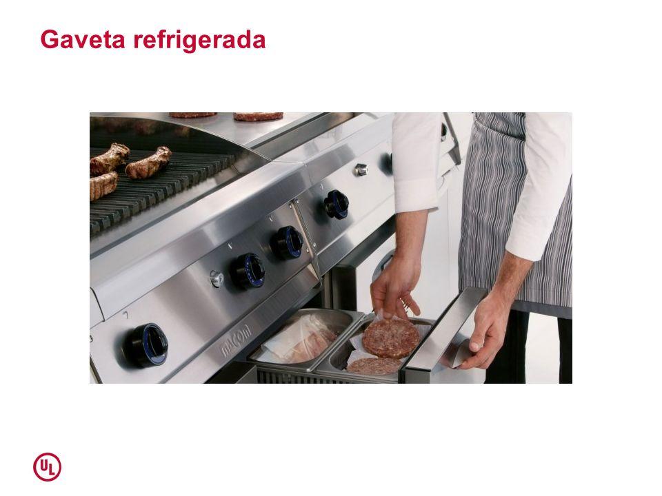Gaveta refrigerada
