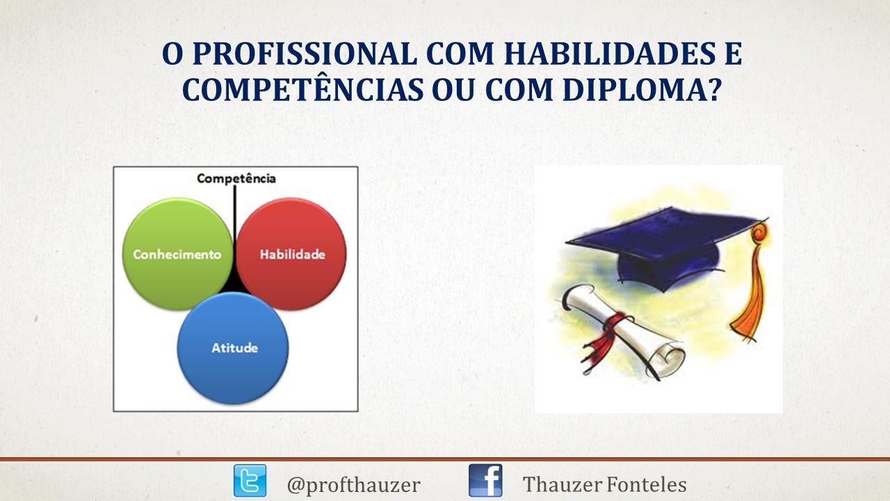 O ESTUDANTE X PROFISSIONAL @profthauzer Thauzer Fonteles