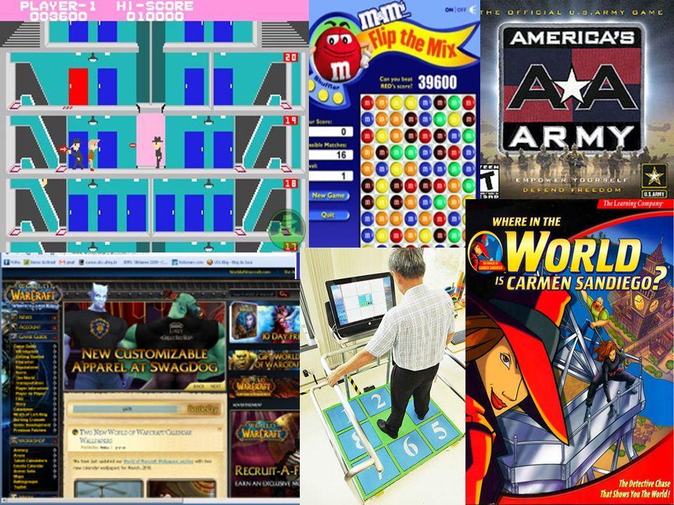 Gêneros ou Tipos São categorias nas quais os jogos são classificados levando em consideração o estilo, a narrativa, a perspectiva dos jogadores, gameplay, etc – Ex.: Ação, Aventura, RPG, RTS,...
