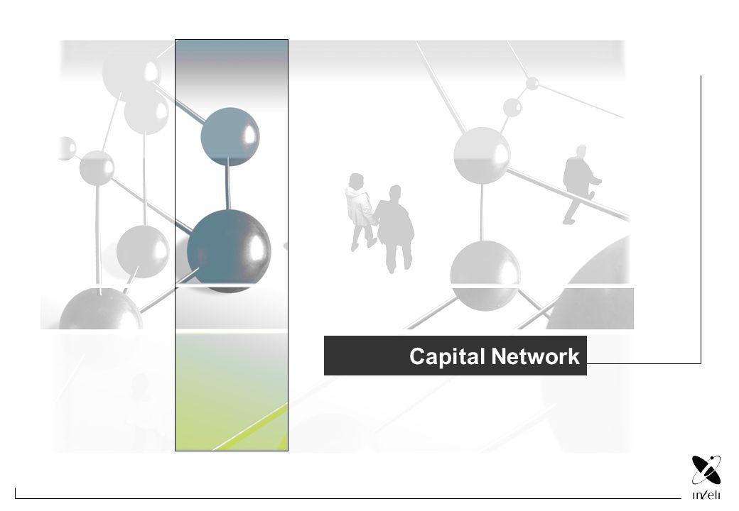 Missão CAPITAL NETWORK Modelo Missão Investir com capital de risco em toda a cadeia de financiamento em novas empresas de base tecnológica e proprietárias de tecnologia e de novas estruturas empresariais dos sectores automóvel e aeronáutico, através de uma filosofia de partilha de risco e de recursos contribuindo para o crescimento e aumento da competitividade das empresas nacionais.