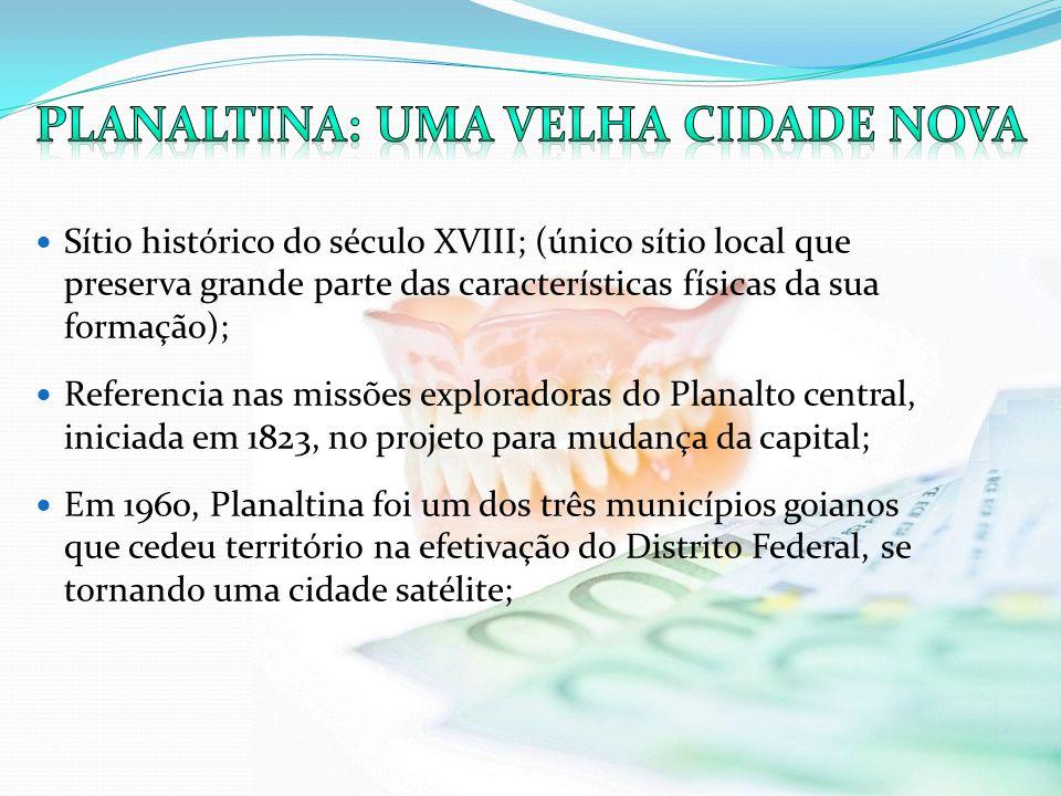Sítio histórico do século XVIII; (único sítio local que preserva grande parte das características físicas da sua formação); Referencia nas missões exp