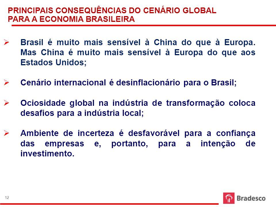 Brasil é muito mais sensível à China do que à Europa. Mas China é muito mais sensível à Europa do que aos Estados Unidos; Cenário internacional é desi