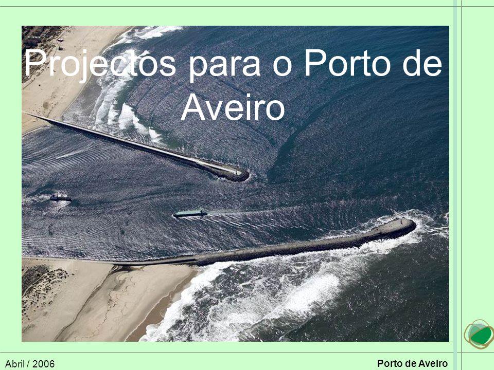 Abril / 2006 Porto de Aveiro Projectos para o Porto de Aveiro
