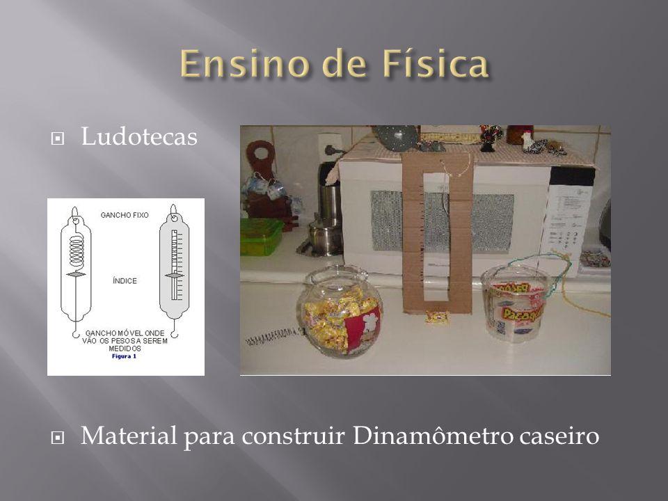 Ludotecas Material para construir Dinamômetro caseiro