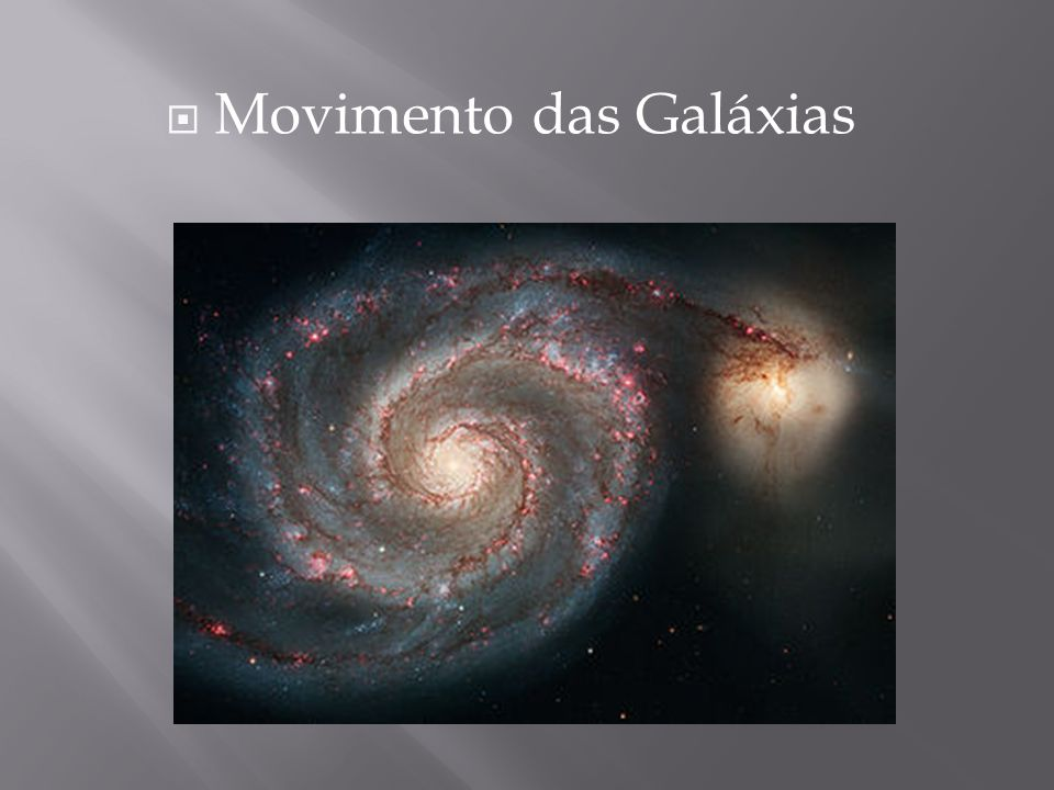 Movimento das Galáxias