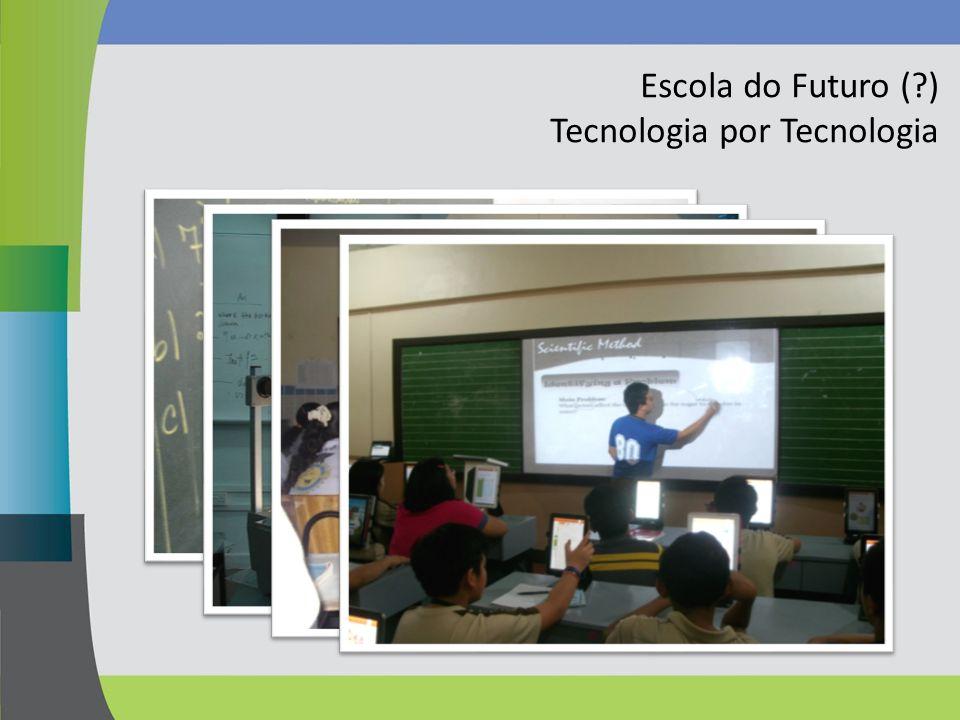 Escola do Futuro (?) Tecnologia por Tecnologia