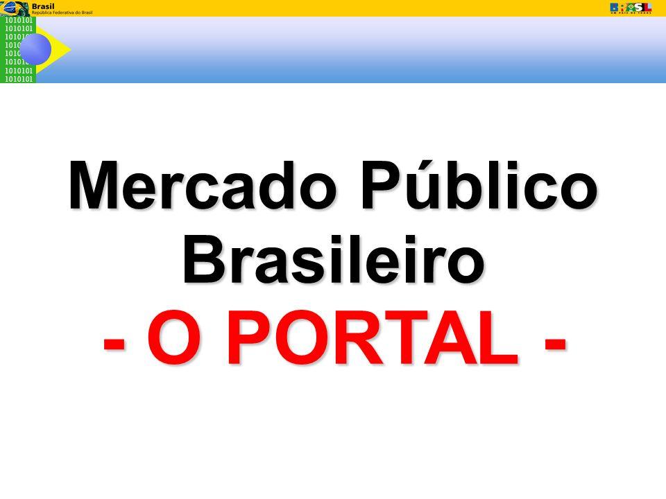 1010101 Mercado Público Brasileiro - O PORTAL -