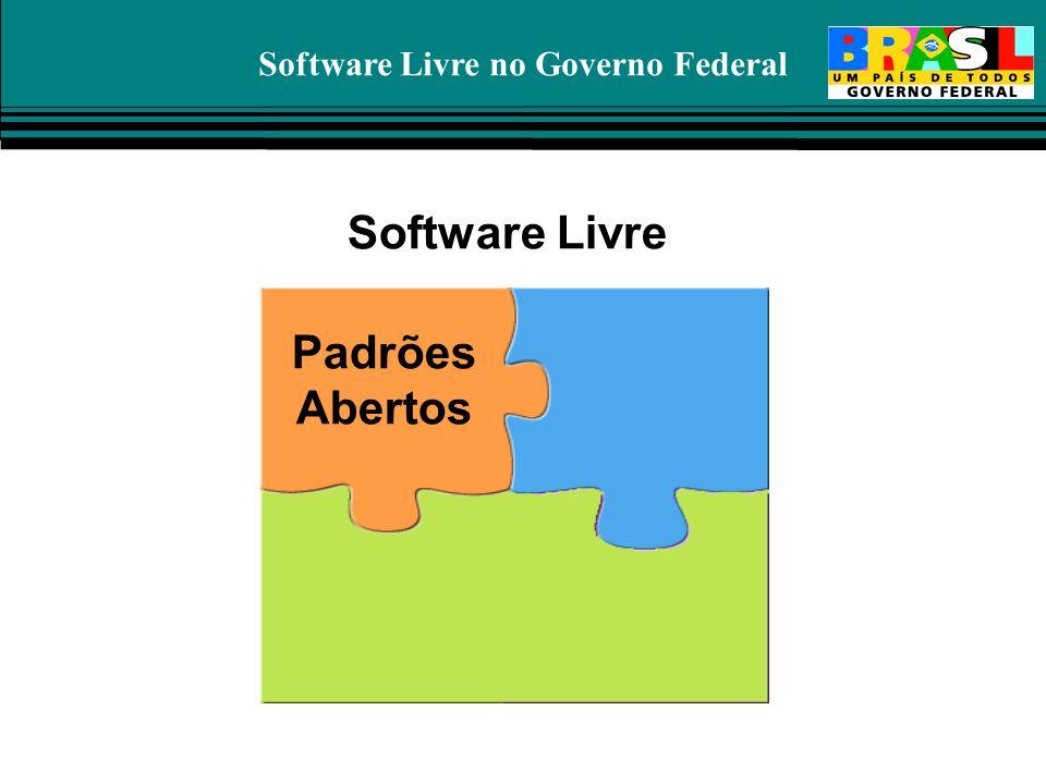 Software Livre no Governo Federal Padrões Abertos Software Livre