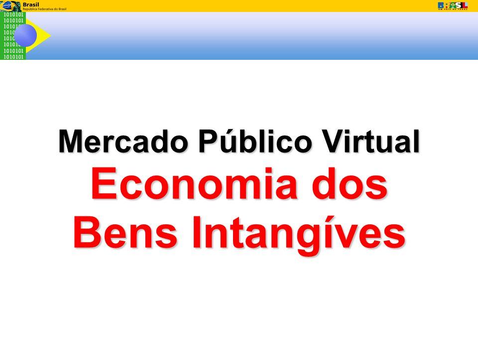 1010101 Mercado Público Virtual Economia dos Bens Intangíves
