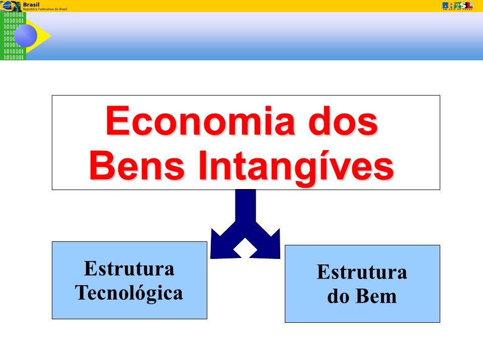 1010101 Economia dos Bens Intangíves Estrutura Tecnológica Estrutura do Bem