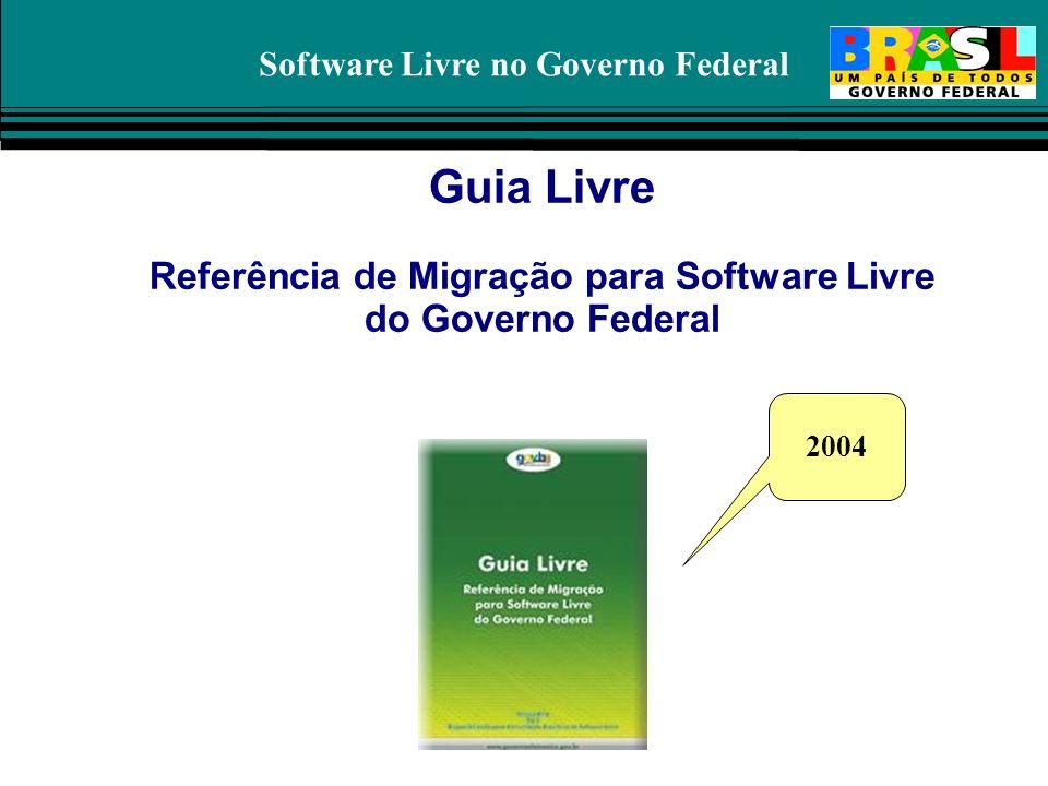 Software Livre no Governo Federal Guia Livre Referência de Migração para Software Livre do Governo Federal 2004